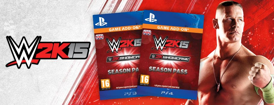 WWE 2K15 Season Pass for PlayStation Network - Download Now at GAME.co.uk!