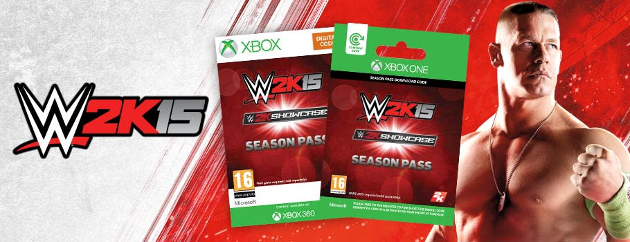 WWE 2K15 Season Pass for Xbox Live - Download Now at GAME.co.uk!