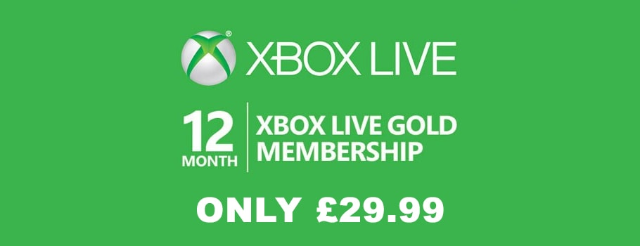 Xbox Live Gold - Buy Now at GAME.co.uk!