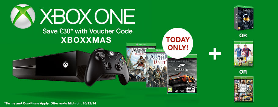Xbox One Deal - Buy Now at GAME.co.uk!