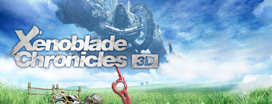 Xenoblade Chronicles 3D for Nintendo 3DS - Preorder Now at GAME.co.uk!