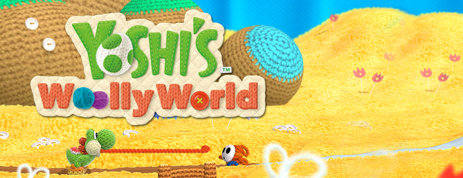Yoshi Woolly World for Nintendo Wii U - Preorder Now at GAME.co.uk!