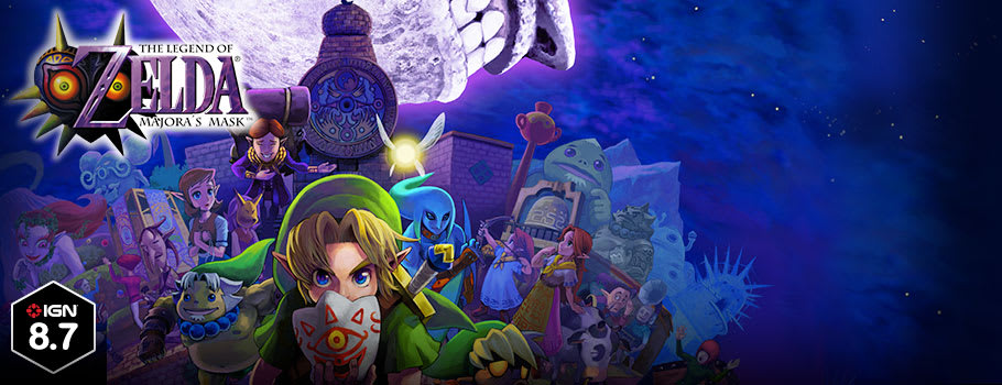 Legend of Zelda Majora's Mask 3D for Nintendo 3DS - Preorder Now at GAME.co.uk!