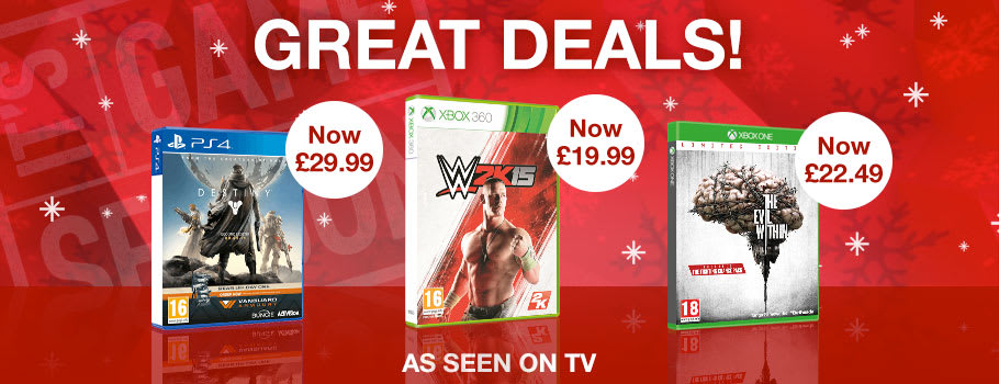 TV Deal - Preorder Now at GAME.co.uk!