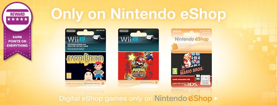 Only on Nintendo eShop - Download Now at GAME.co.uk!