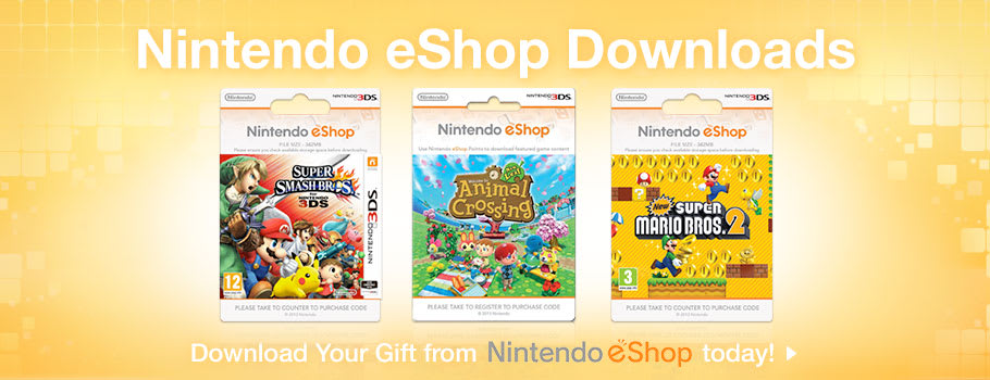 Generic eShop for Nintendo 3DS - Buy Now at GAME.co.uk!
