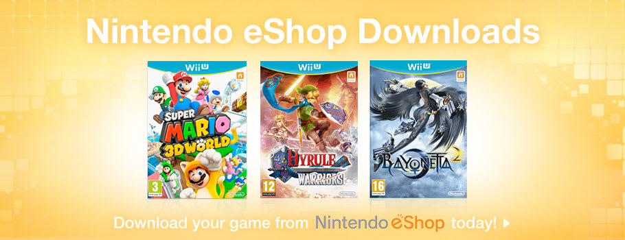 Generic eShop for Nintendo Wii U - Buy Now at GAME.co.uk!
