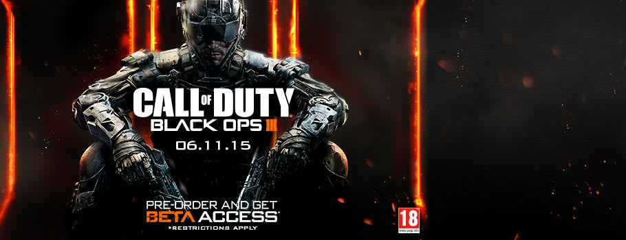 Call of Duty Black Ops III - Preorder Now at GAME.co.uk!