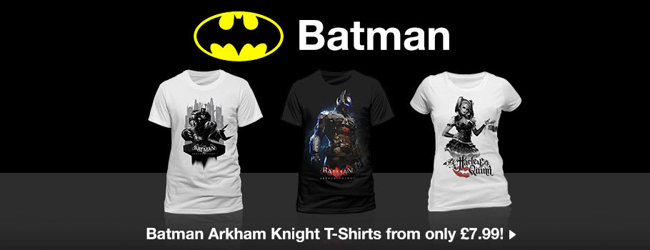 Batman Arkham Knight T-Shirts - Buy Now at GAME.co.uk!