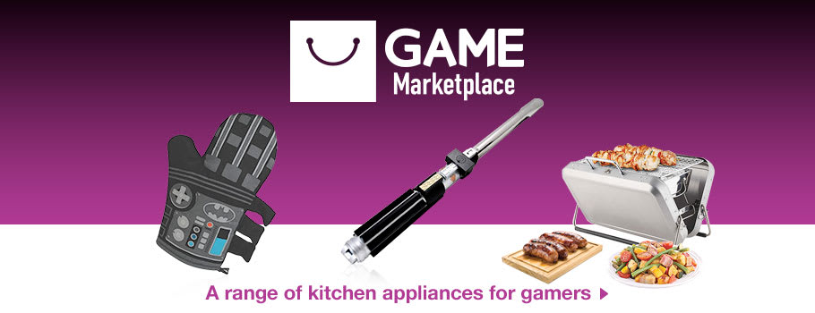 Cooking for gamers - xx Now at GAME.co.uk!