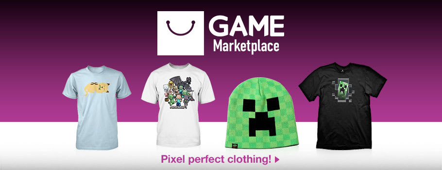 Minecraft Clothing - Buy Now at GAME.co.uk!