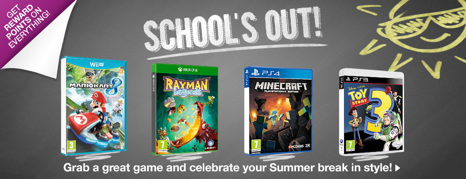 School's OUT - Games up to 7 - Buy Now at GAME.co.uk!