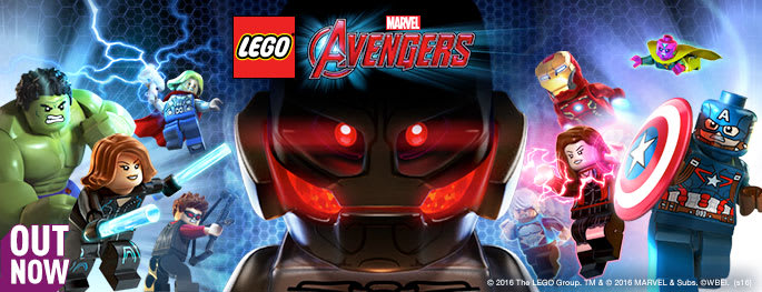 LEGO Marvel Avengers for PlayStation VITA - Pre-order Now at GAME.co.uk!