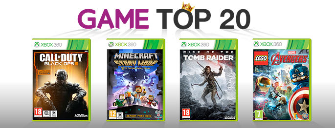 Top 20 Chart games for Xbox 360 - Buy Now at GAME.co.uk!
