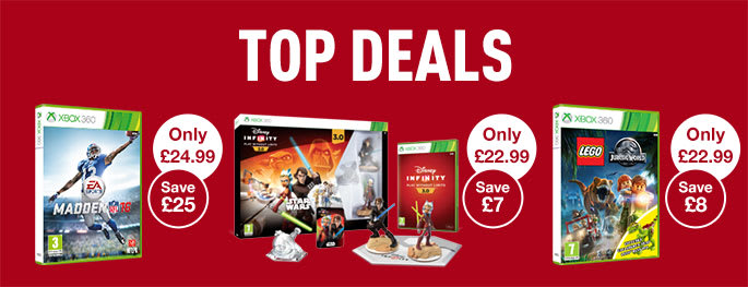 Top Deals on Xbox 360 games - Buy now at GAME.co.uk