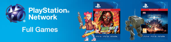 Full Games for PlayStation Network - Download Now at GAME.co.uk!