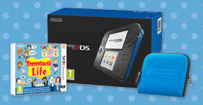 Nintendo 2DS with Tomodachi Life and Carry Case - at GAME.co.uk
