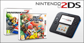 2DS with Mario Kart 7 - Order Now at GAME.co.uk!