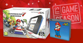2DS with 2 Games and Mario Folio Kit for Nintendo 3DS - Buy Now at GAME.co.uk!
