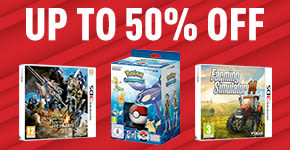 Up to 50% off Deals for Nintendo 3DS - Buy Now at GAME.co.uk!