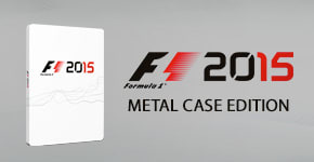 F1 2015 Metal Case - Preorder Now - Only at GAME.co.uk!