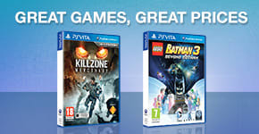 Preowned SALE for PlayStation VITA - Buy Now at GAME.co.uk!