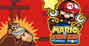 Mario vs Donkey Kong - Tipping Stars for Nintendo 3DS - Download Now at GAME.co.uk!