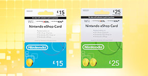 eShop Cards for Nintendo eShop - Find Out at GAME.co.uk!
