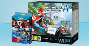 Nintendo Wii U with Mario Kart and Bayonetta double Pack - Order Now at GAME.co.uk!