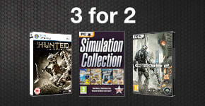 3 for 2 on selected PC games - Buy Now at GAME.co.uk!