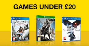Preowned Games Under £20