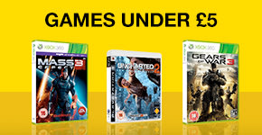 Preowned Games Under £5!