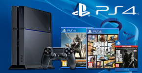 PlayStation 4 with Call of Duty Advanced Warfare Day Zero and Last of Us Download