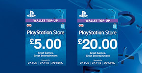 PlayStation Plus Wallet Top Ups