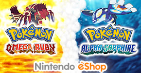 Pokemon Omega Ruby and Alpha Sapphire for Nintendo 3DS - Download Now at GAME.co.uk!