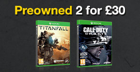 Preowned Games 2 for £30 for Xbox One - Buy Now at GAME.co.uk!