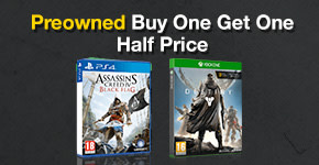 Preowned Buy One Get One Half Price!