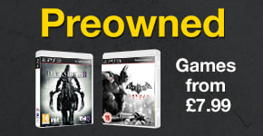 Preowned Games from £7.99 for PlayStation 3 - Buy Now at GAME.co.uk!
