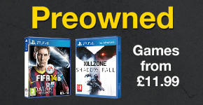 Preowned Games from £11.99 for PlayStation 4 - Buy Now at GAME.co.uk!