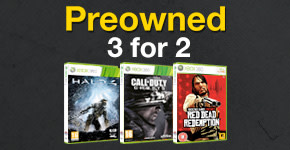 Preowned 3 for 2 - Buy Now at GAME.co.uk!