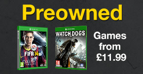 Preowned Games from £11.99 for Xbox One - Buy Now at GAME.co.uk!