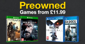 Preowned Xbox One and PlayStation 4 Games from £11.99 - Buy Now at GAME.co.uk!