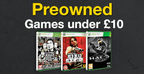 Preowned Games Under £10 for Xbox 360 - Buy Now at GAME.co.uk!