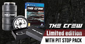 The Crew Limited Edition with Pit Stop Pack for PlayStation 4 - Preorder Now at GAME.co.uk!