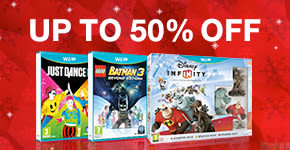 Up to 50% Off Games for Nintendo Wii U - Buy Now at GAME.co.uk!