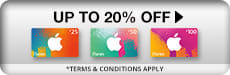 Save up to 30% on selected iTunes Gift Cards - Buy Now at GAME.co.uk