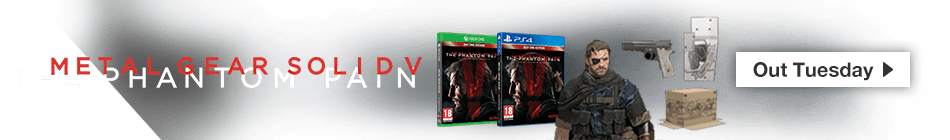 Metal Gear Solid V: The Phantom Pain Day One Edition - Pre-order now at GAME.co.uk!