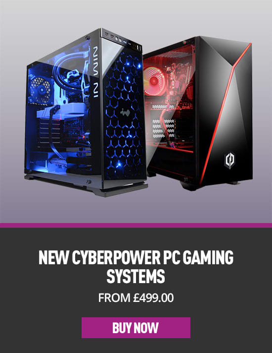 Cyberpower Desktop Gaming PCs - Buy Now at GAME.co.uk
