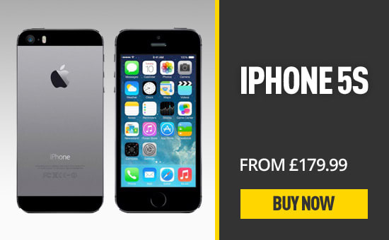 iPhone 5S From £139.99 - Buy Now at GAME.co.uk
