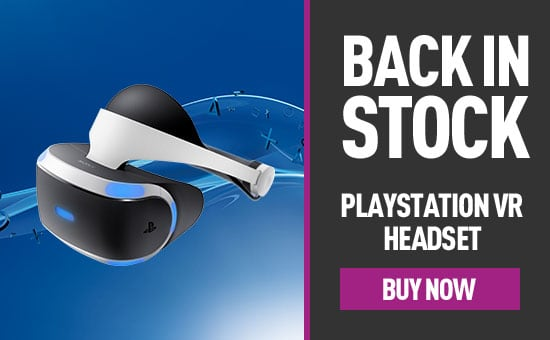 PlayStation VR Headset Back in stock